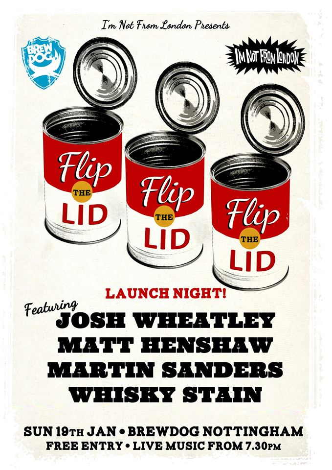 Flip the Lid Brewdog Jan 19th 2014