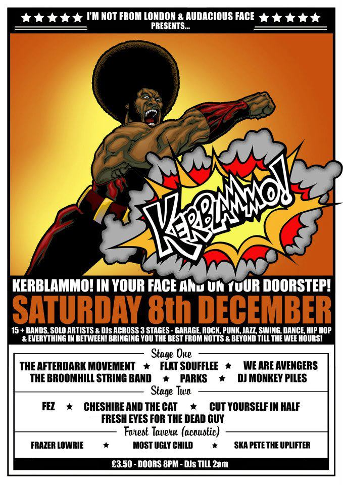 Kerblamo 8th December 2012