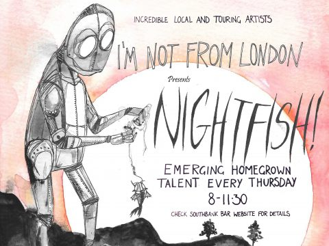 Nightfish - Swimming with talent!!!