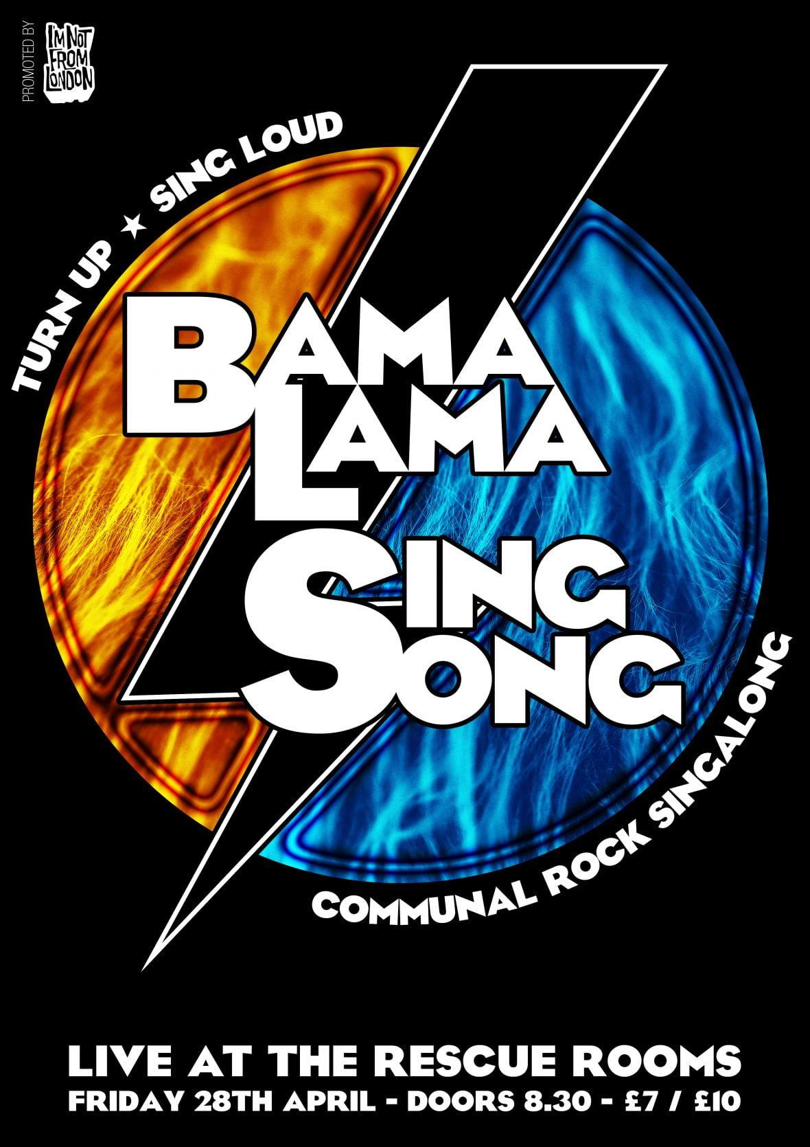 Mass communal rock karaoke!!