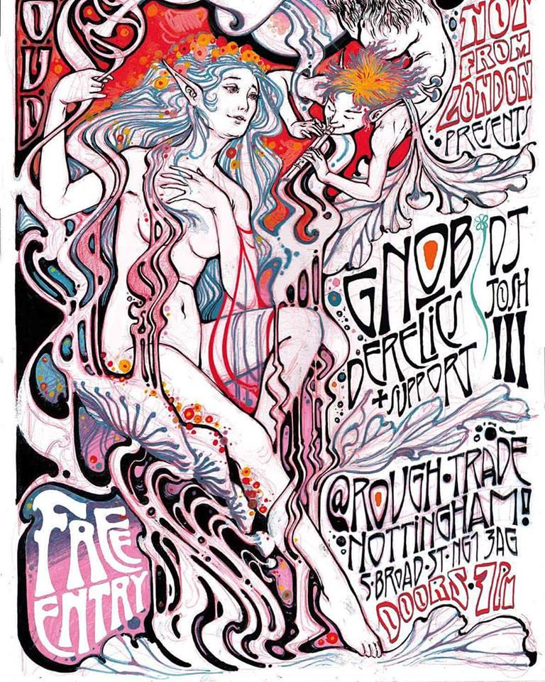 Rough Trade gig poster