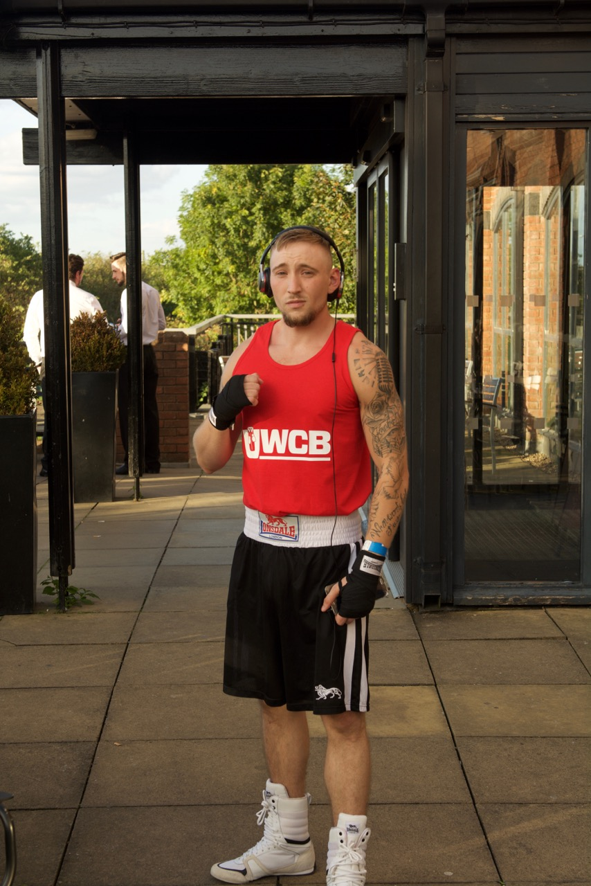 Kyle 'Barracuda' Barclay – Ultra White Collar Boxing Event