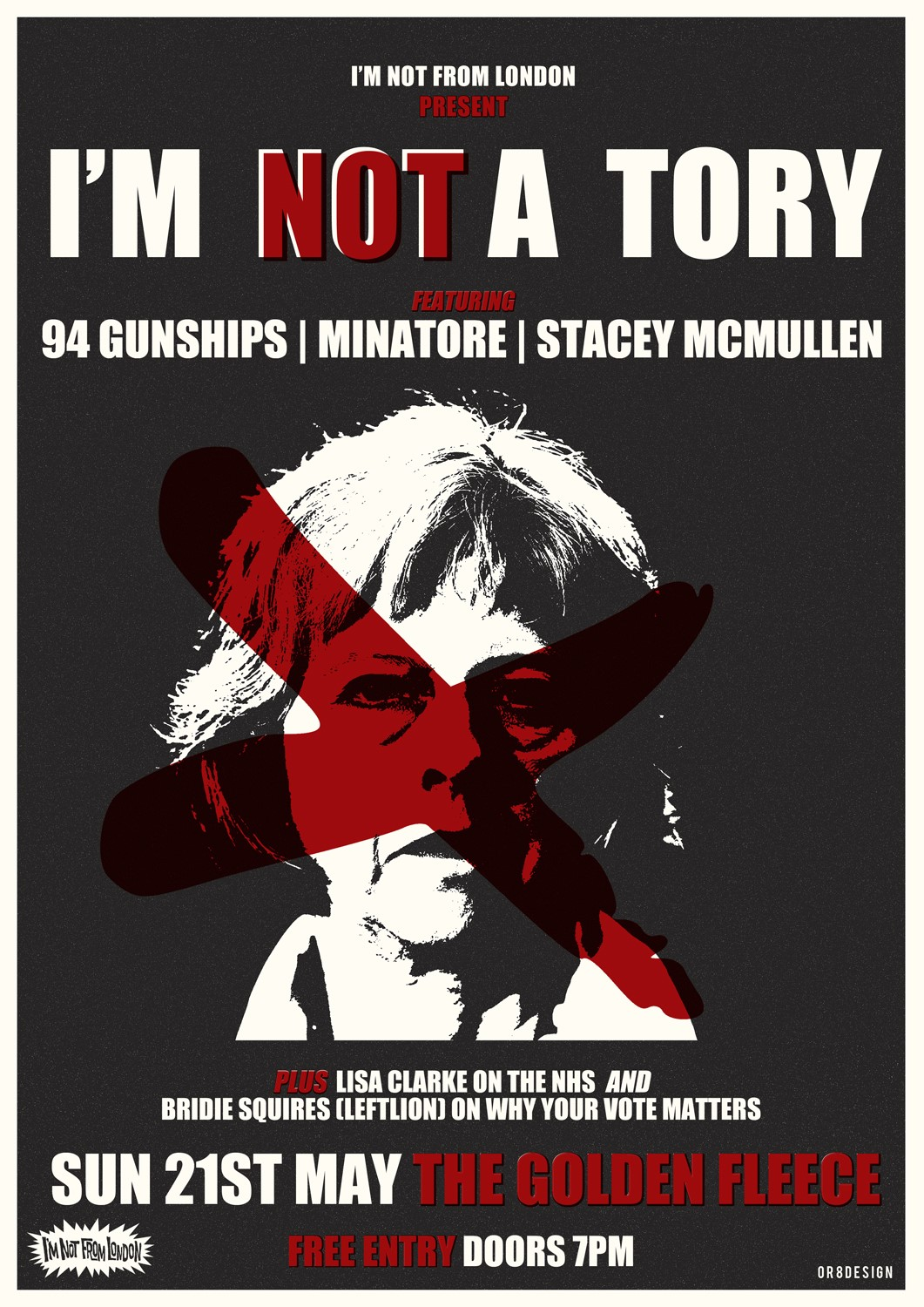 I'm Not A Tory - Register To Vote