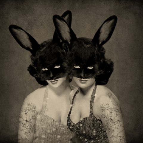 Chambers - Down The Rabbit Hole Cover Art - Lizzie Bunny by Anna Bean